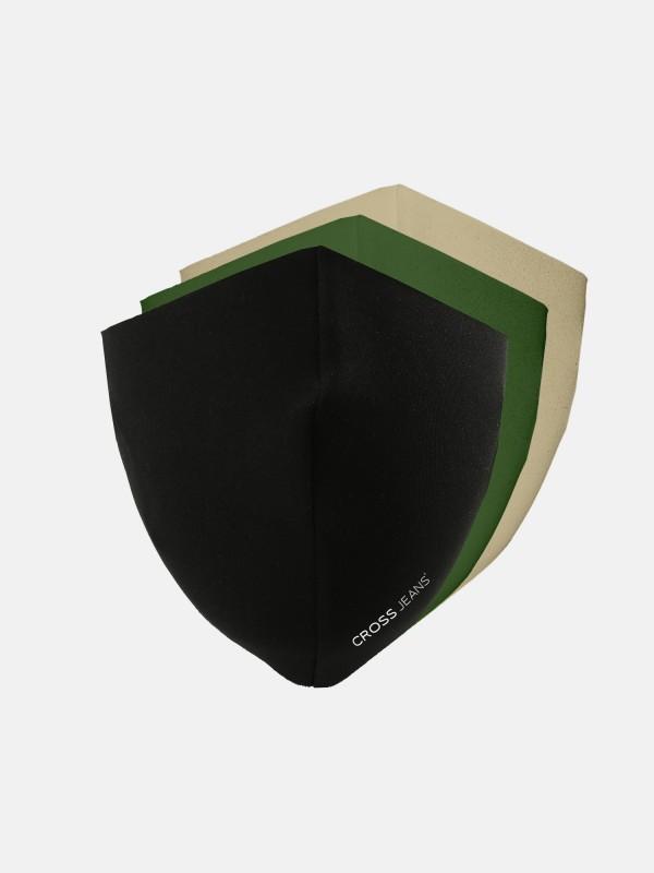 Stoffmaske 3er Pack